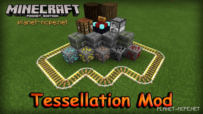 Мод Tessellation (3D Block) 0.12.3/0.12.2