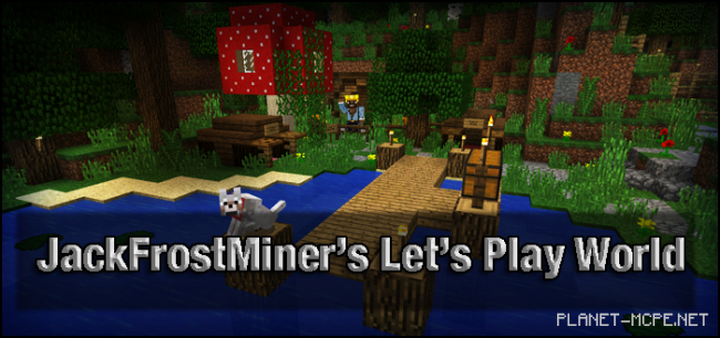 Карта JackFrostMiner's Let's Play World [Эпизод 40]