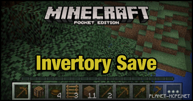 Мод Invertory Save 0.15.6/0.15.4/0.14.3