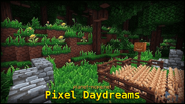 Текстур пак Pixel Daydreams 0.15.2/0.14.3/0.13.1