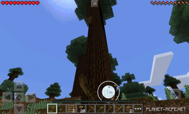 Мод TreeCapitator 0.15.6/0.15.4/0.14.3