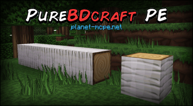 Текстур пак PureBDcraft PE (PocketBDcraft) 0.13.1/0.13.0