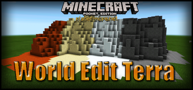 Мод World Edit Terra 0.14.0/0.13.1