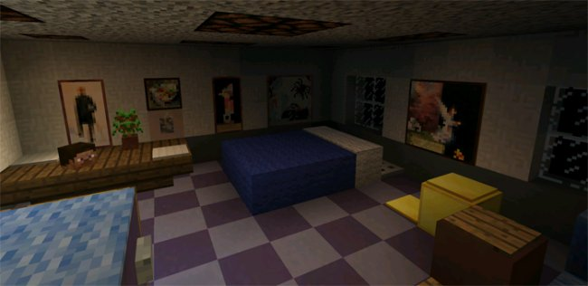 Карта Five Nights at Freddy's 4 (House)