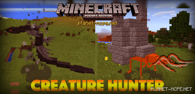 Мод Creature Hunter 0.15.6/0.15.4/0.14.3