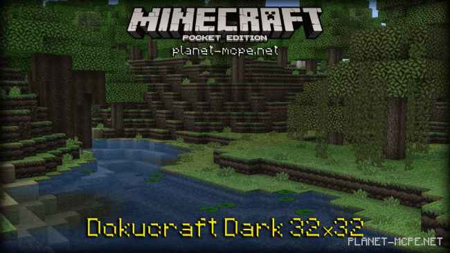 Текстур пак Dokucraft Dark 0.16.0/0.15.4/0.14.3