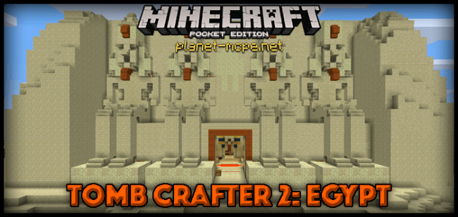 Карта Tomb Crafter 2: Egypt