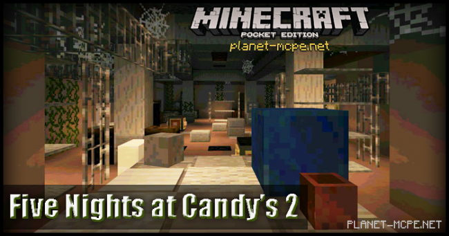Карта Five Nights at Candy's 2