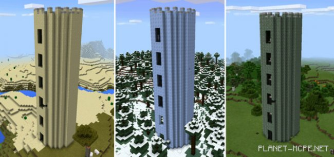 Мод Battle Towers PE 0.14.2/0.14.1/0.14.0