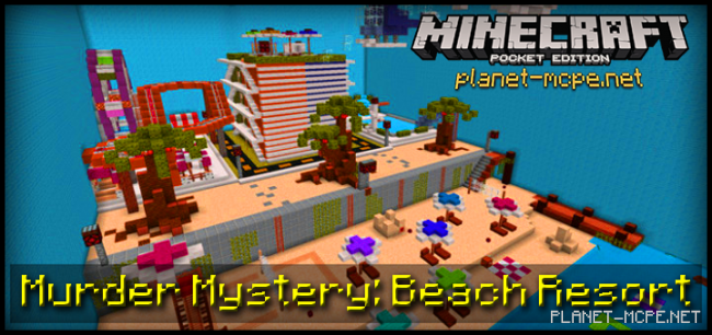 Карта Murder Mystery: Beach Resort