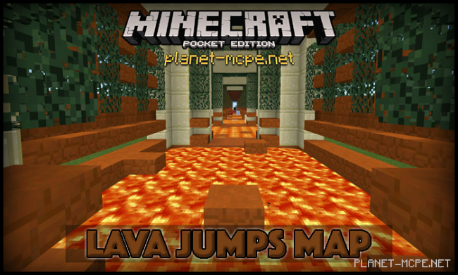 Карта Lava Jumps