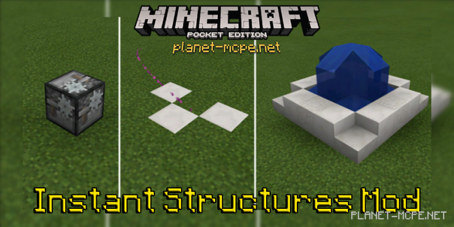 Мод Instant Structures 0.14.3
