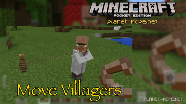 Мод Move Villagers 0.16.0/0.15.6/0.15.2