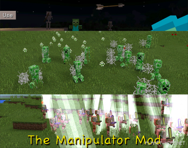 Мод The Manipulator 0.15.6/0.15.4