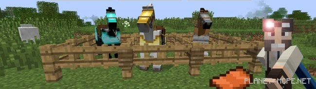 Мод Craftable Saddle & Horse Armors 0.15.6