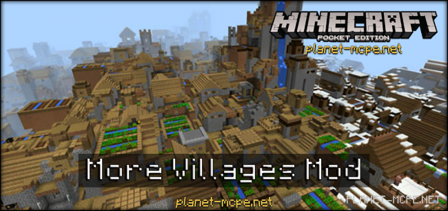 Мод More Villages 0.15.6/0.15.4