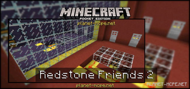 Карта Redstone Friends 2 [Мини-игра]
