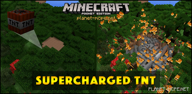 Мод Supercharged TNT 0.16.0