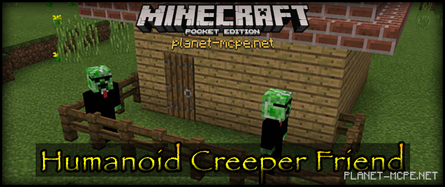 Мод Creeper Friend Add-on 0.16.0