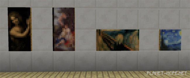 Мод Classic Paintings 0.16.0
