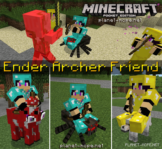 Мод Ender Archer Friend 1.4.2