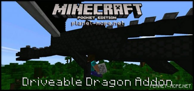 Мод Driveable Dragon 0.17.0