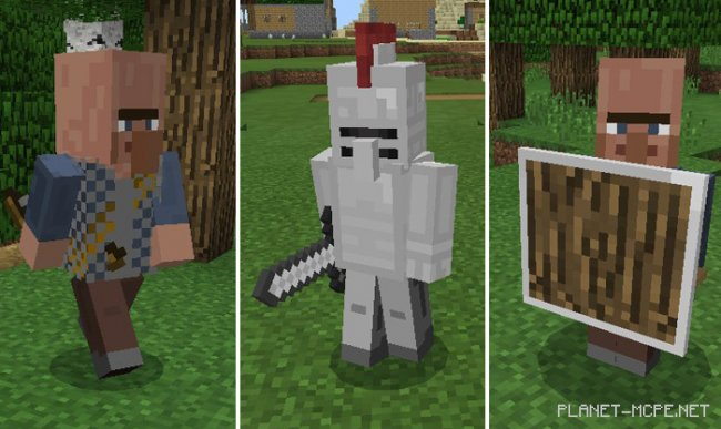 Мод Medieval Mobs 0.17.0/0.16.1/0.16.0