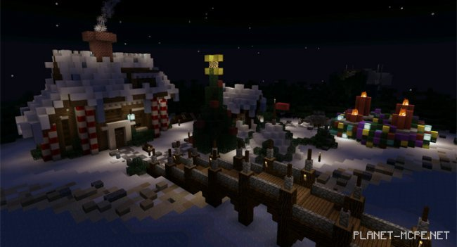 Карта Minecraft Advent Calendar 2016 [Мини-игра]
