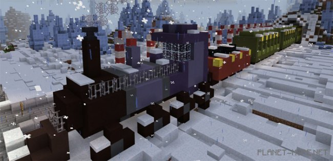 Карта Tomb Crafter 7: Christmas