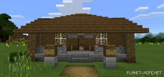 Карта Self-Building House [Редстоун] 1.0.5+