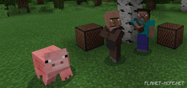 Соундпаук The Element Animation Villager Sounds 1.0.5/1.0.0