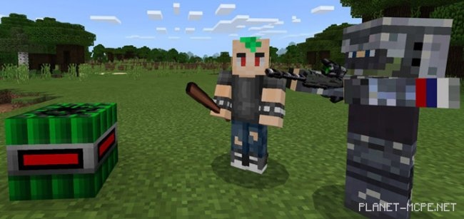 Мод Alex's Better Weapons 1.0.9/1.0.0