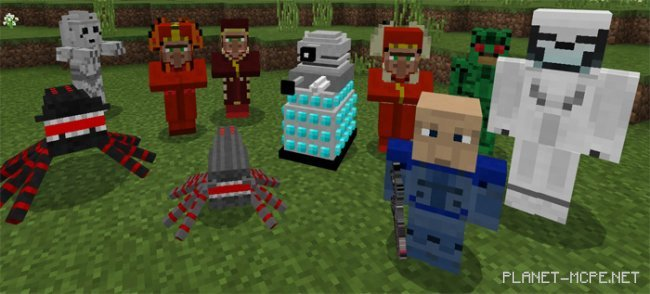 Мод Doctor Who Mobs 1.2