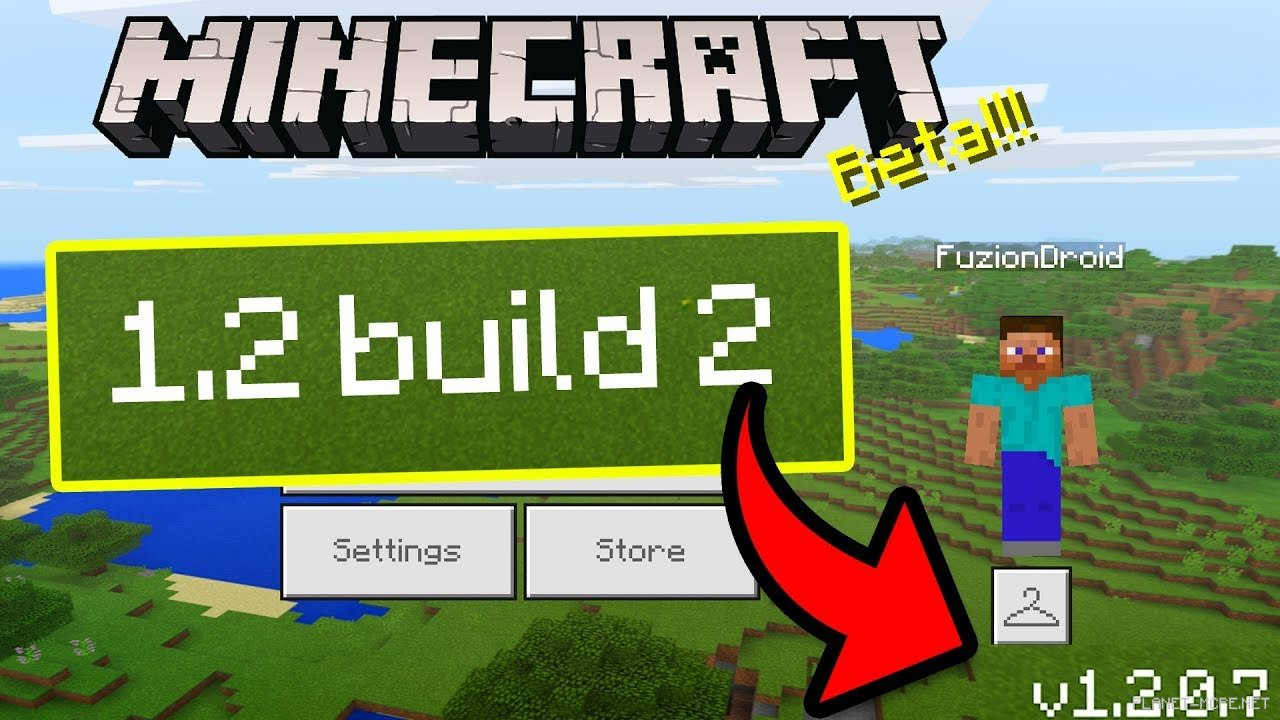 Minecraft PE 1.2.0.7 Beta Build 2