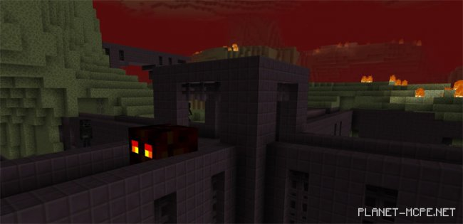Текстуры The Nether and the End Switched 1.2