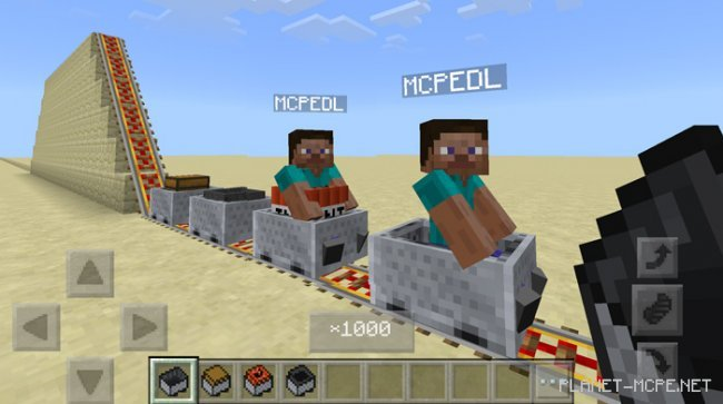 Мод Attraction Minecart 1.2.13