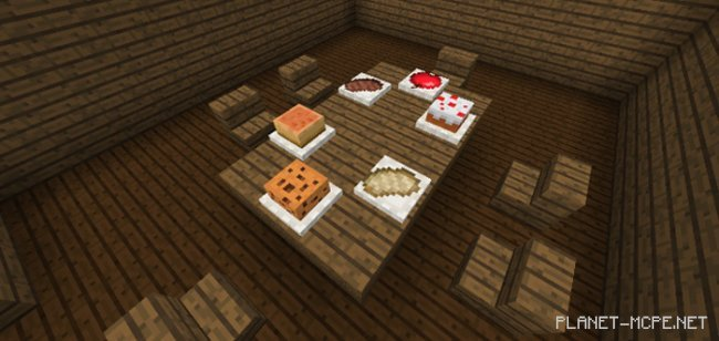 Мод Placeable Food 1.2.13