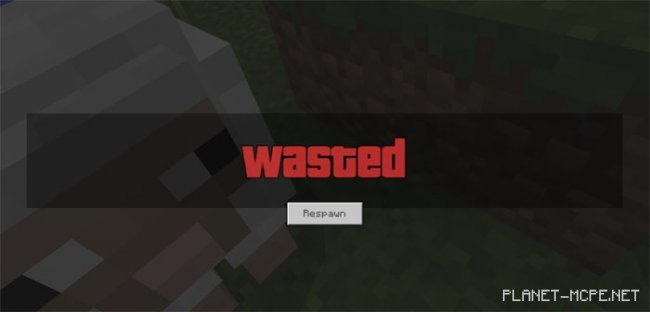 Текстуры GTA Wasted Screen 1.2.13