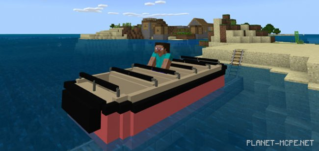 Мод Disney Attraction Minecart 1.4.2