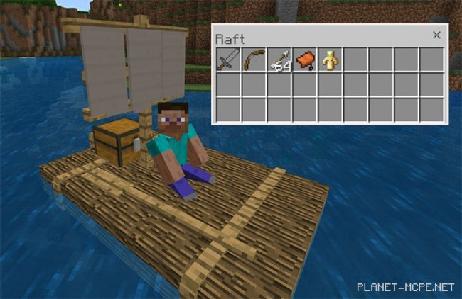 Мод Chested Sail Raft 1.4.4