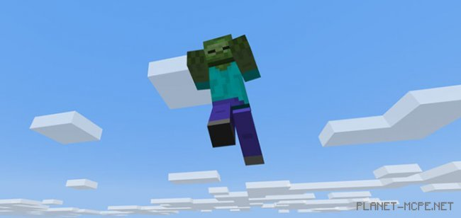 Мод Flying Zombies 1.5.3