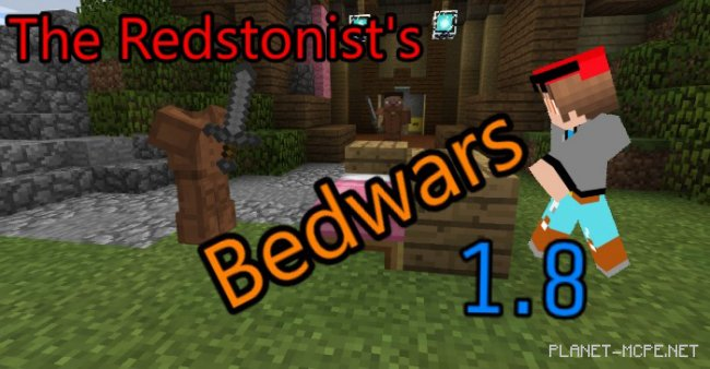 Карта The Redstonist Bedwars [PvP] [Мини-игра]