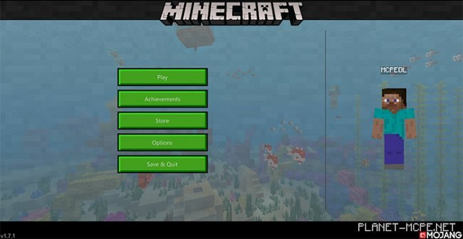 Текстуры New Minecraft UI 1.7+