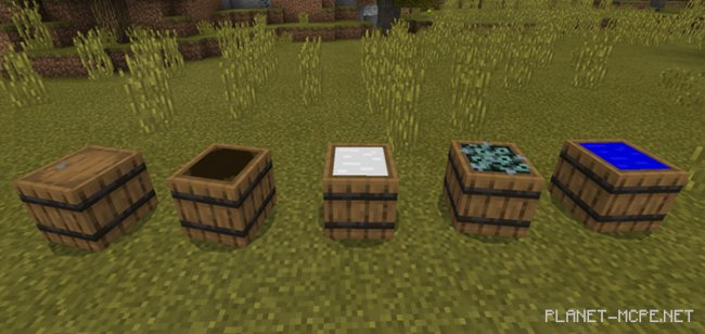 Мод Barrel Block Function 1.7+