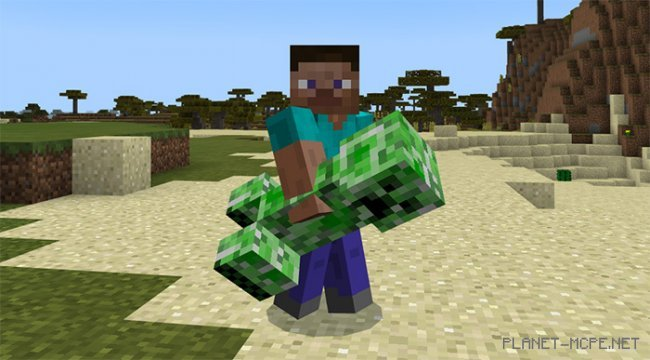 Мод Throwable Creepers 1.8
