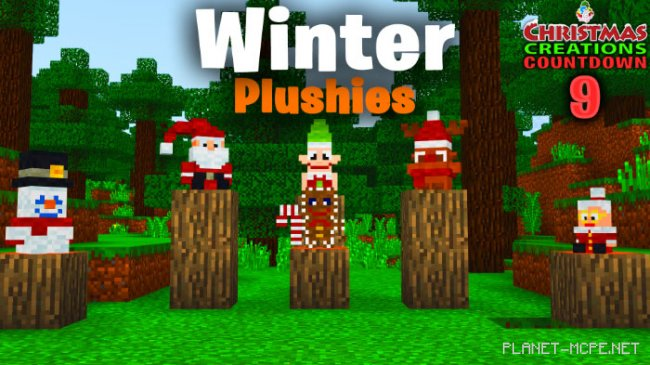 Мод SG Winter Plushies 1.8