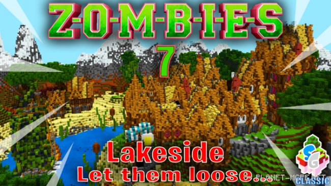 Карта SG Zombies 7 – Lakeside [Мини-игра] [PvP]