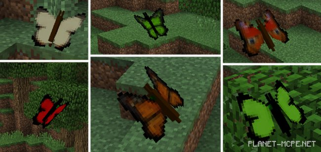 Мод Butterfly 1.8