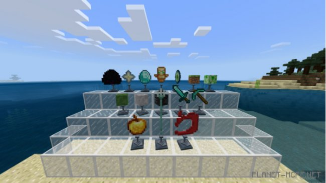 Мод Trophies Stand 1.8
