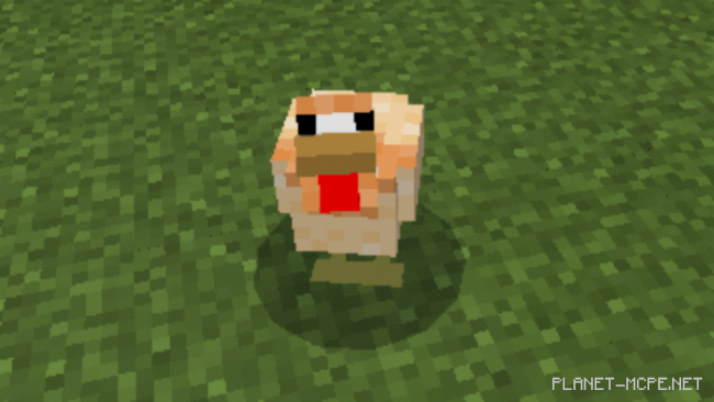 Мод Painted Chickens 1.10